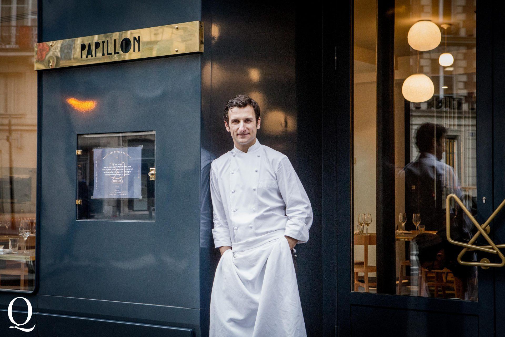 Christophe Saintagne, le Restaurant Papillon Le Meilleur Chez Vous