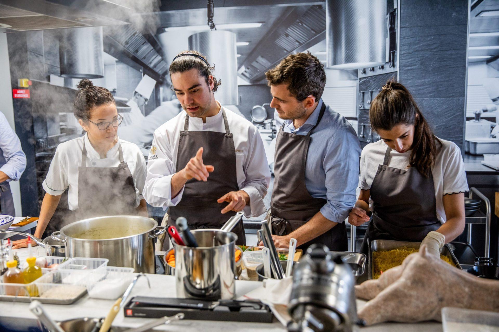 A Colmar, les créations de l'école de la bonne cuisine en click & collect Le Meilleur Chez Vous